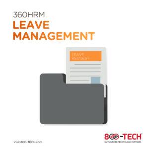 Leave Management - hybrid teams utilizing 360HRM