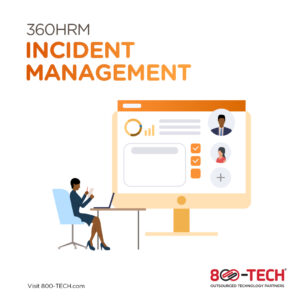 Improve Efficiency  and Productivity Through The Incident Management Module 360HRM