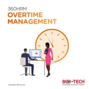 Overtime Management Module - hybrid teams utilizing 360HRM